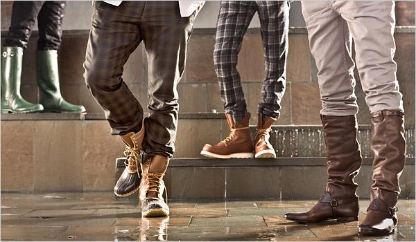 Штани у взуття