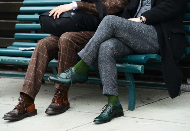 Кольорові чоловічі шкарпетки