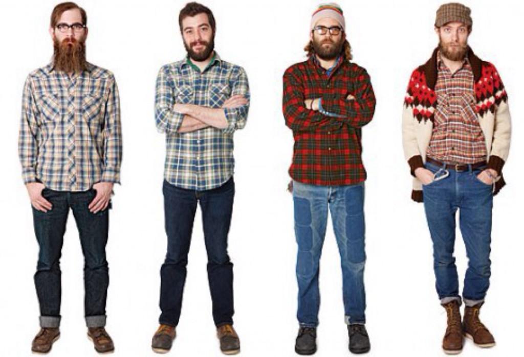 Ламберсексуал = борода + картата сорочка
