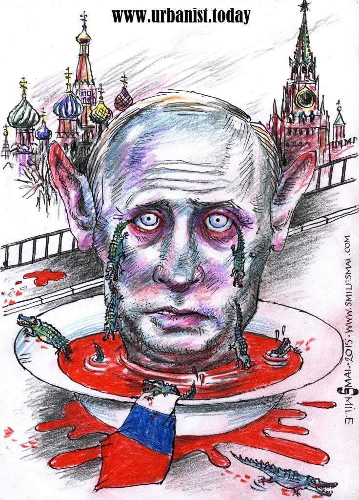 Крокодилячі сльози Путіна