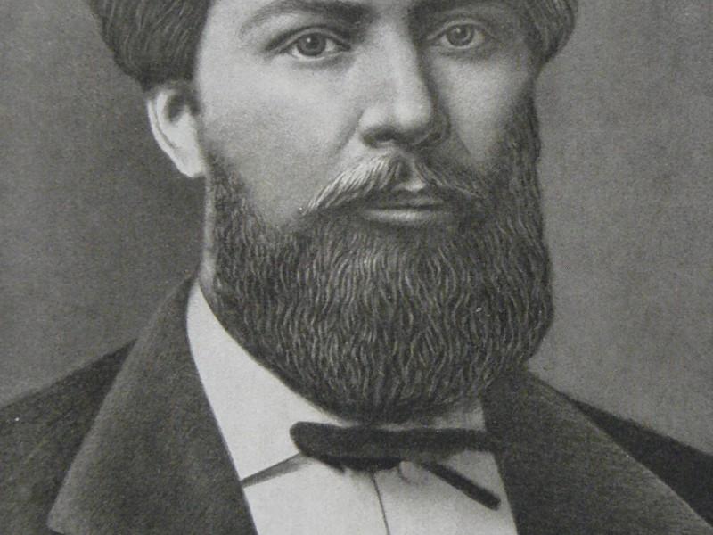 Микола Лисенко у 1875 році