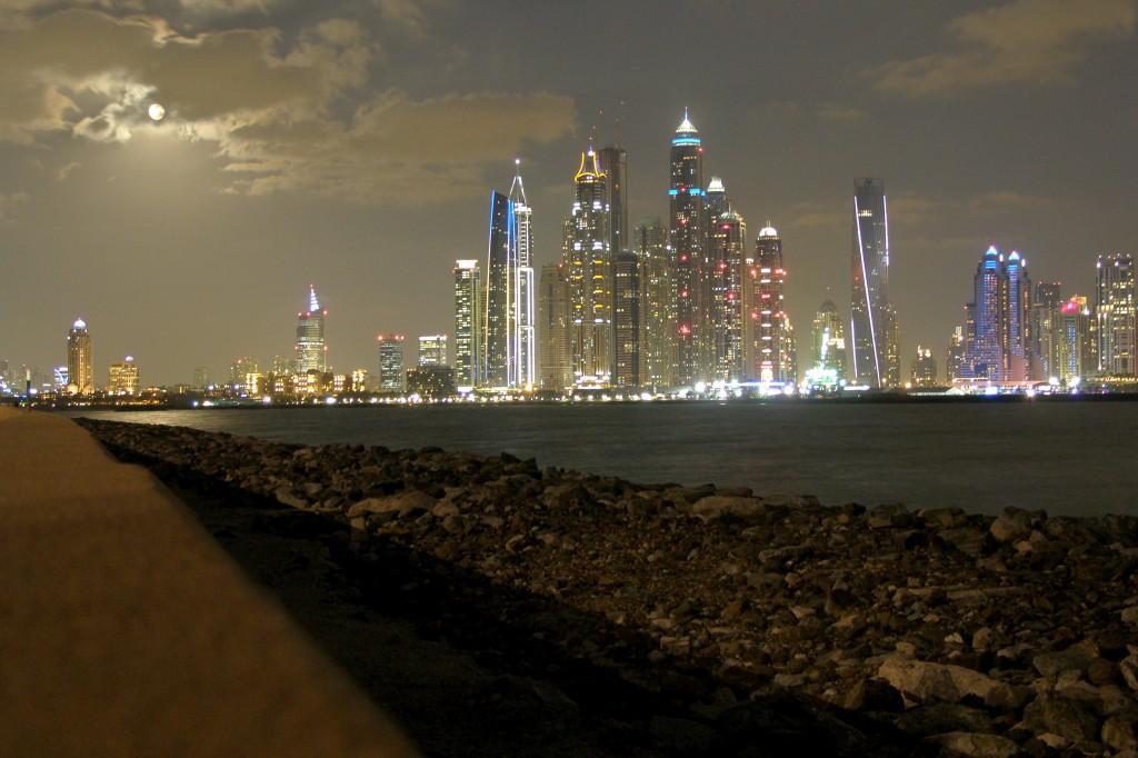 Дубайська ніч. Фото: Юрій Смаль